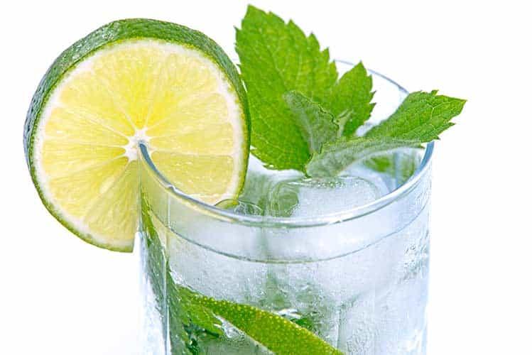 mojito et citron vert